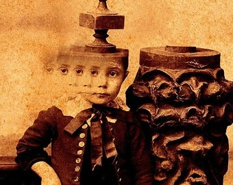 Creepy Little Child no 4-Variation II...Open Edition-10x8