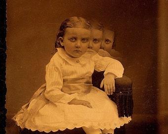 Creepy Little Child no 3...Open Edition - 7 x 5