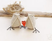 i carry your heart with me...Burlap Birds