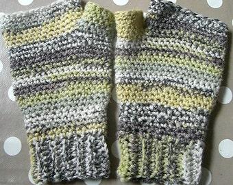 Crochet Pattern for Fingerless Gloves mittens PDF