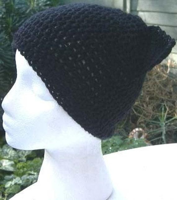 Crochet Pattern for Black Cat Kitten Ears Hat halloween PDF