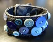 Vintage Button Cuff