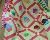 Have a Sweet Treat Cupcakes Applique Quilt
