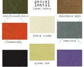 green tea linen lagenlook layering tunic / dress - The Parachute Something Husk