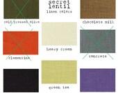 cream linen lagenlook layering tunic / dress - The Parachute Something Husk