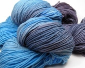 Jazzed Hand-Dyed Sock Yarn (superwash merino, 2 skeins available, 175 yards each)