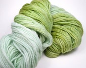 Iceberg Lettuce Hand-Dyed Yarn (wool, 275 yards)