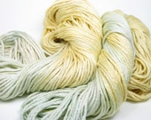 Reserved for Amanda Frostee Hand-Dyed Yarn (cotton\/modal, 2 skeins available, 75 yards per skein)