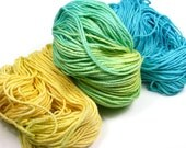 Sunkissed Hand-Dyed Yarn (cotton, 390 yards)