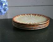 Vintage Swedish Dessert Plates