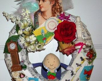 Humpty Dumpty wreath