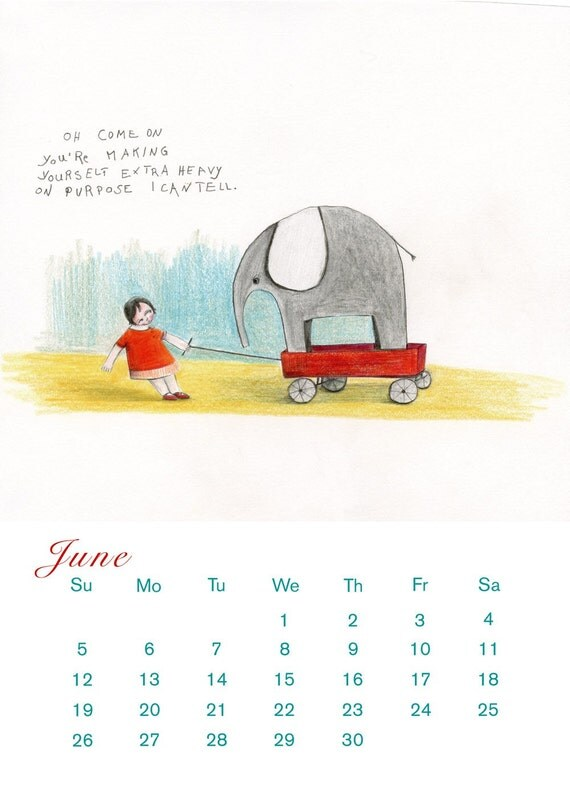 2011 Calendar ('of children and animals') small