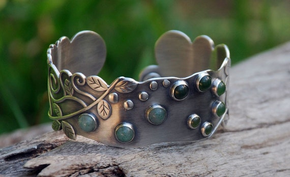 RESERVED for WillowMetals - Rainforest Walk - Cuff