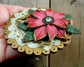 A Touch of Antique Flower Brooch