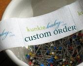 Custom Order Feed and Change Set