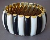 Vintage Black n White Expansion Bracelet