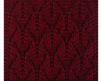 PDF September's Autumn Leaves Cloth Pattern, from our Seasonal Dishcloth Series - FALL Dishcloths