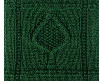 PDF November's Evergreen Cloth Pattern, from our Seasonal Dishcloth Series - FALL Dishcloths