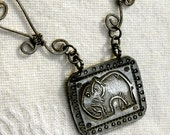Sterling Silver Necklace PACHYDERM