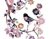 Little Robin (purple)