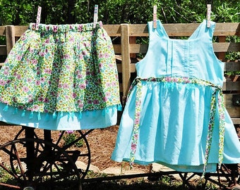 Miss Claire Skirt Pattern 6mo-12yrs  Instant Download