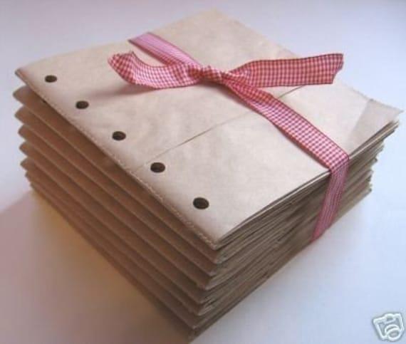 paper bag album instructions