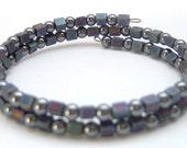 Multi color blue bracelet