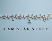 Mad Scientist challenge - I AM STARSTUFF bracelet