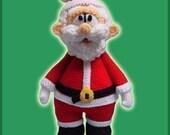 Amigurumi Pattern Crochet Santa Claus Doll DIY Digital Download