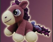 Amigurumi Pattern Crochet Heather Pony Doll DIY Digital Download