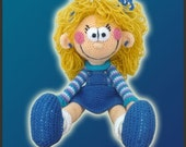 Amigurumi Pattern Crochet Polly Doll DIY Digital Download