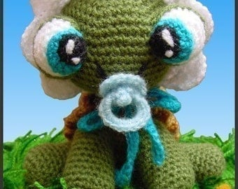 Amigurumi Pattern Crochet Baby Turtle DIY Instant Digital Download PDF
