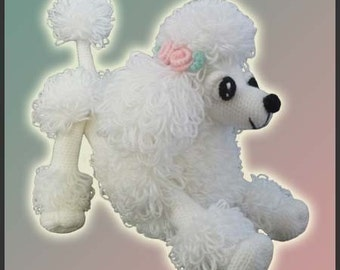 Amigurumi Pattern Crochet Lara Poodle Toy DIY Digital Download