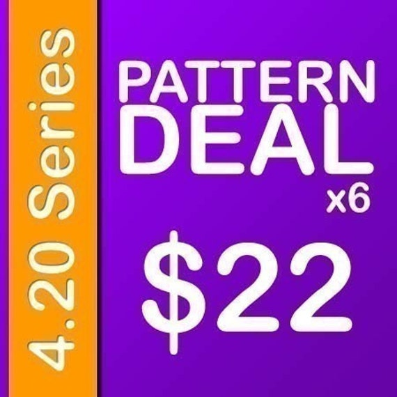 Delicious Crochet Pattern PDF Deal 4.20 Series