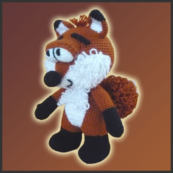 Crochet Fox Amigurumi Pattern - Amigurumi Crochet Fox