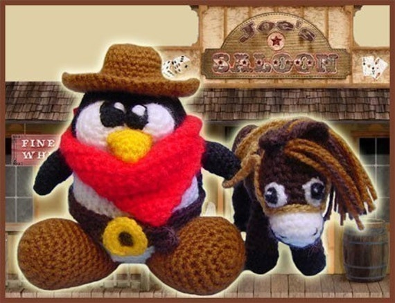 The Good, the Bad and the Tux - Amigurumi Pattern