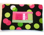 Top-Zip Retro Pen Pouch (ID 46)