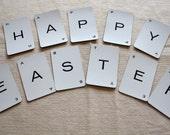 Vintage Smaller Letter Game Cards- HAPPY EASTER