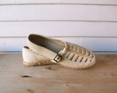 Naturally Nude, Keds Espadrille Mary Janes - Sz. 8.5, 39
