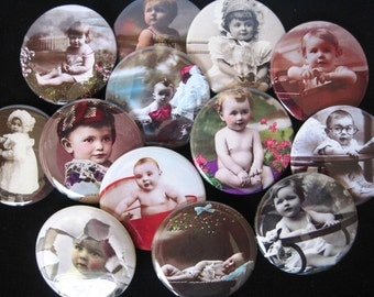 One Dozen OH BABY Pocket Mirrors Baby Shower Party Favors