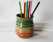 Pencil Holder - Pen and Pencil Caddy Handmade