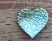 Love Note Heart // One Heart for Ring Catcher or Trinket Dish