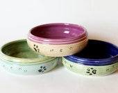 Custom Cat Food Bowl //  Personalized with Name