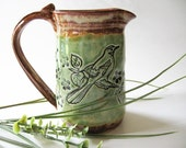 Feathered Friends Pitcher
