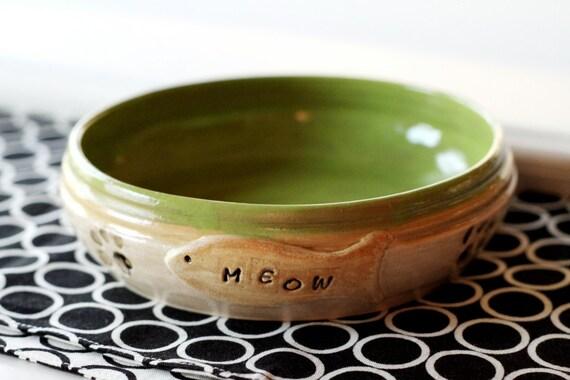 Cat Bowl Ready to Ship