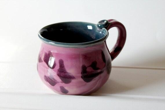 Violet, Plum and Teal Mug
