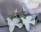Peace Dove earrings