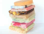New - Half Bar Soap - Rainfall Scented - Perfect For Travel Or To Try Out A New Soap