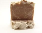 Sweet Vanilla Soap Vegan Shaving Cold Process Handmade Bar Soap