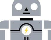 Electrobot- 5 X 7 Digital Print
